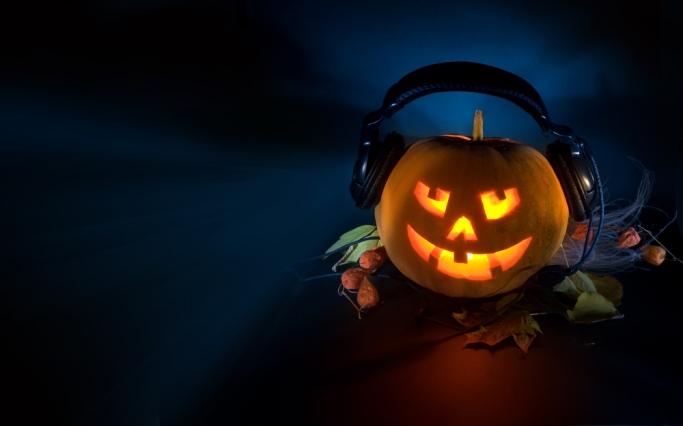 Halloween music pumpkin